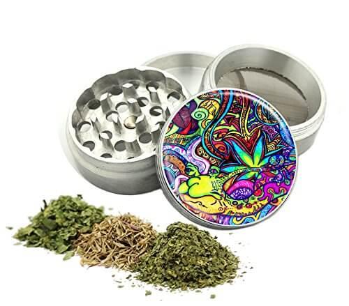 Psychedelic Weed Design Grinder