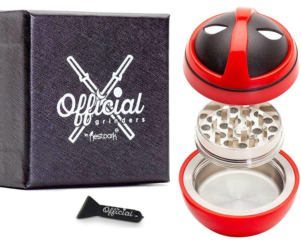 Official Deadpool Weed Grinder