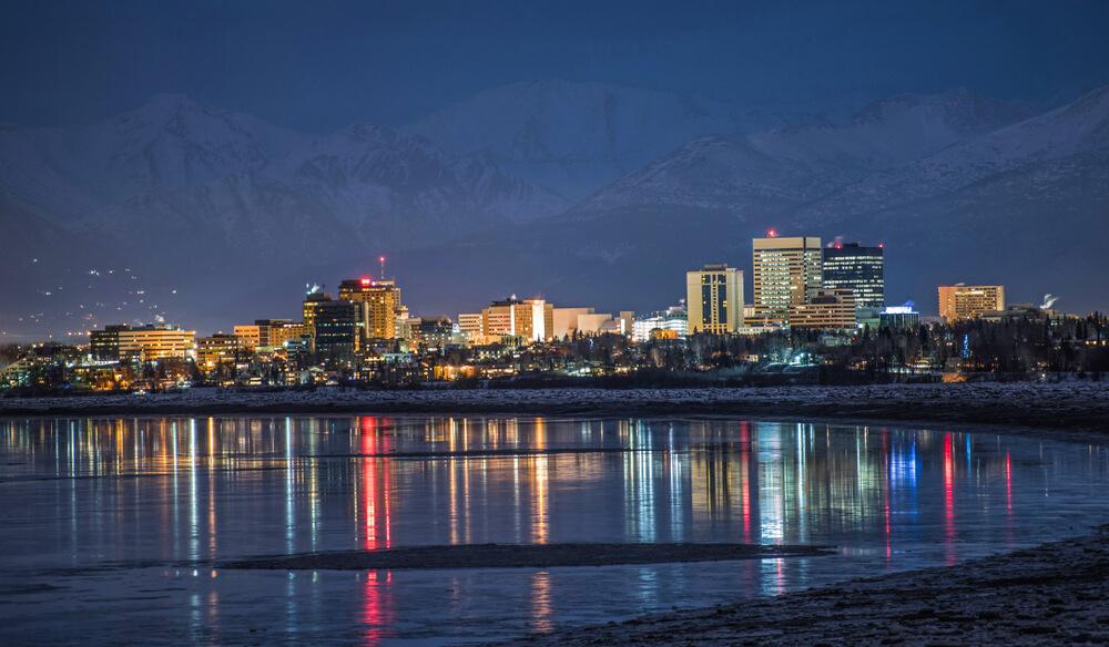Anchorage Alaska Weed Cities