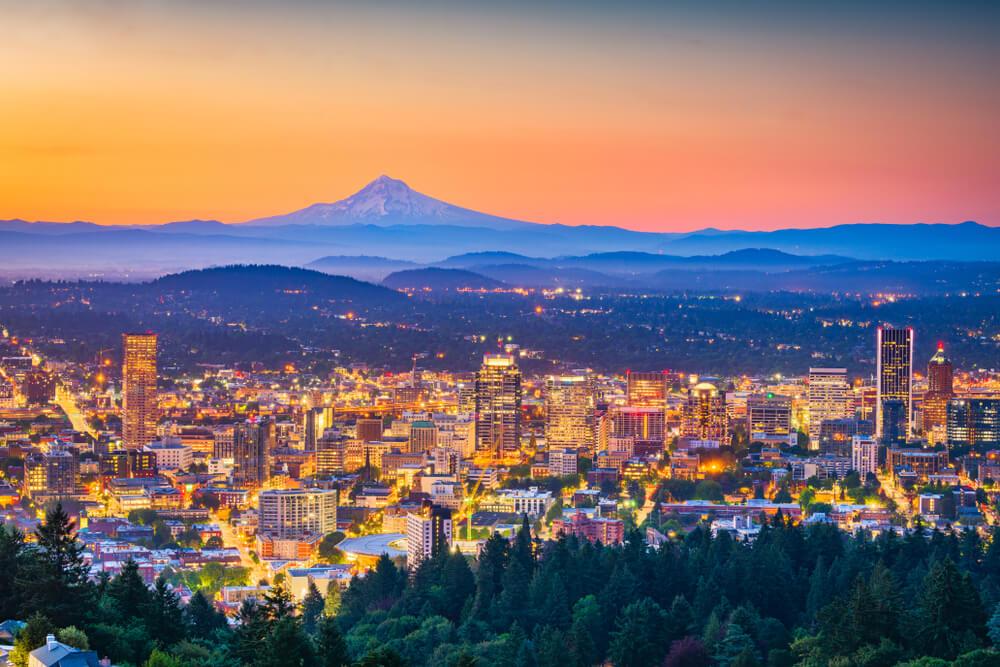 Portland Oregon Weed Cities
