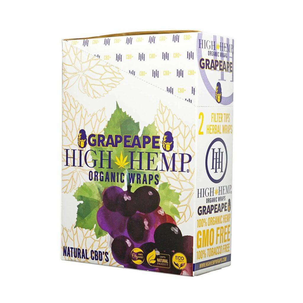 Grapeape High Hemp Wraps