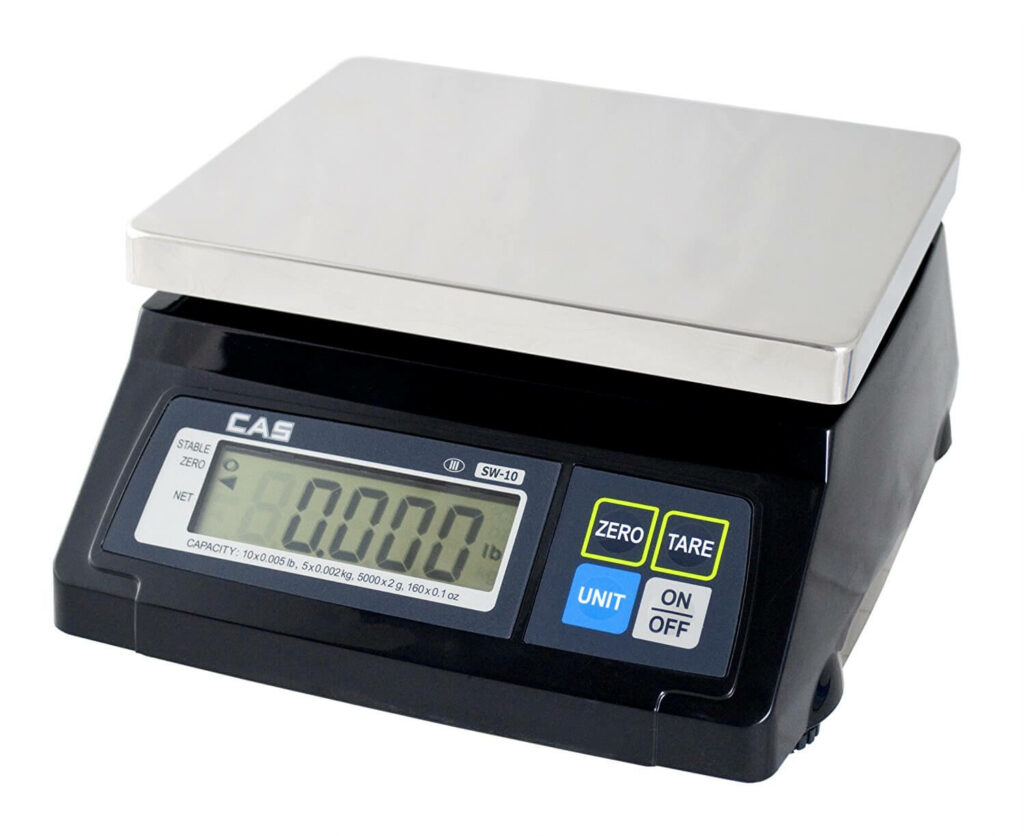 SW Series Portion Control Bench Scale