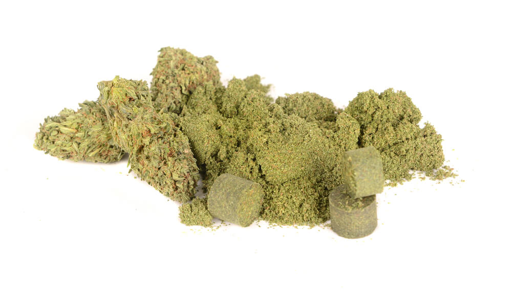 Cannabis Kief Pollen