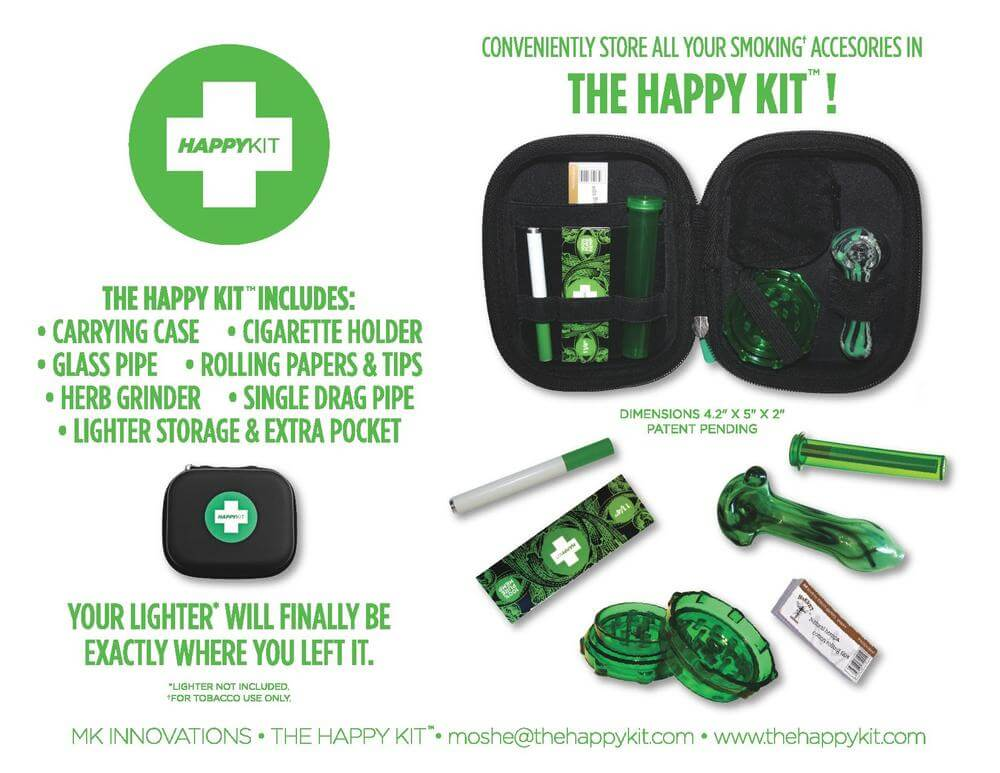 Happy Kit – The All-In-One Smoking Kits You Didn't Know You Needed