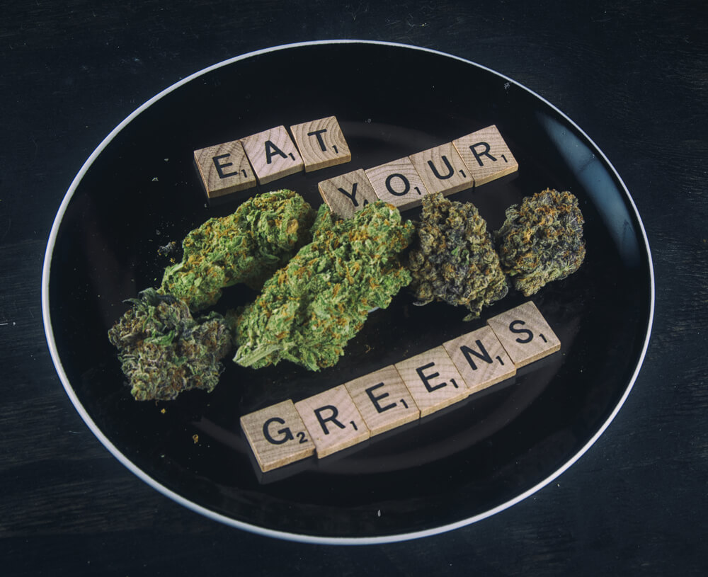 Health Benefits Eating Raw Cannabis