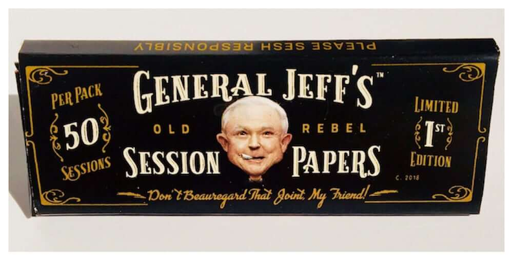 Jeff Sessions Rolling Papers: You Can Now Get High With Jeff Sessions