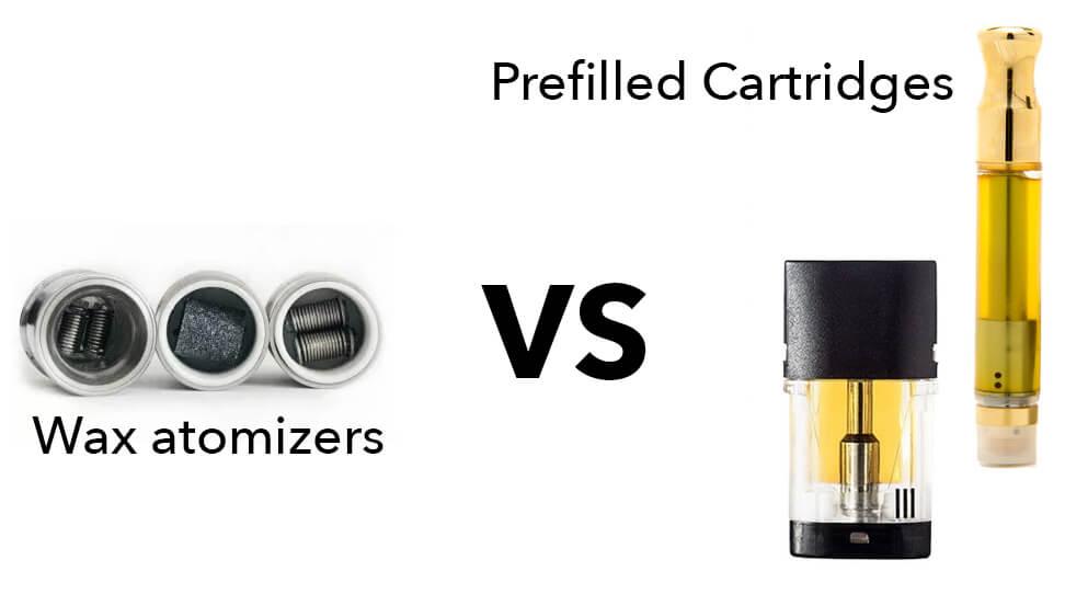 Prefilled THC oil cartridge vs wax pen