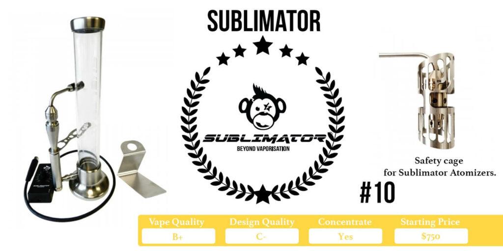 Sublimator Desktop Vaporizer