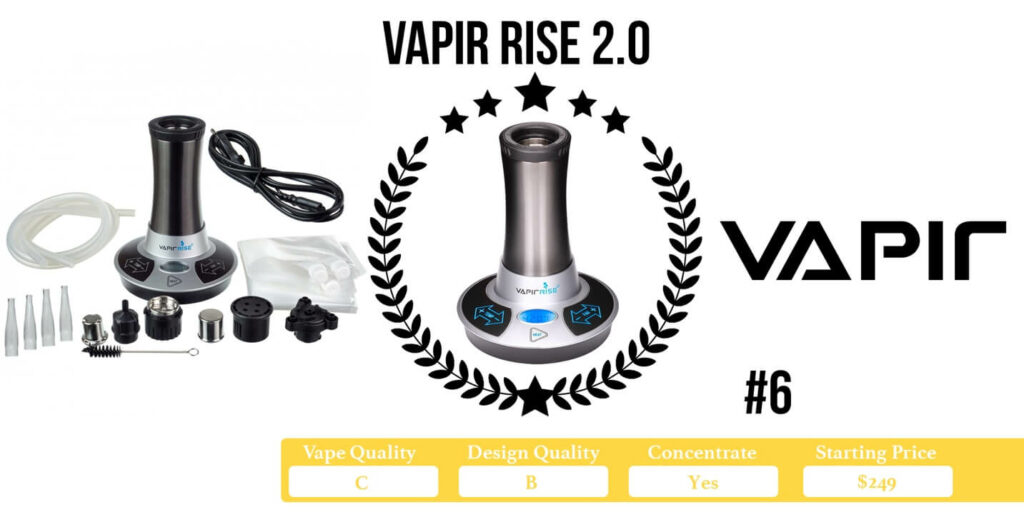 Vapir Rise 2.0 Desktop Vaporizer