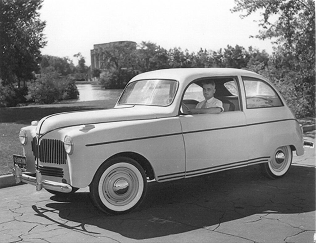 Henry Ford Hemp Car 1940