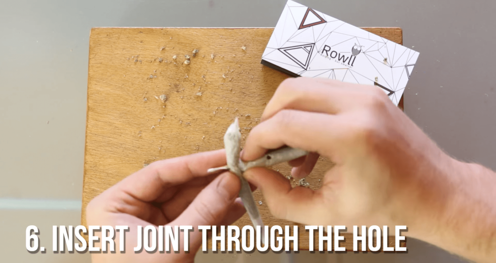 Cross Joint - Add The Joint Through The Hole