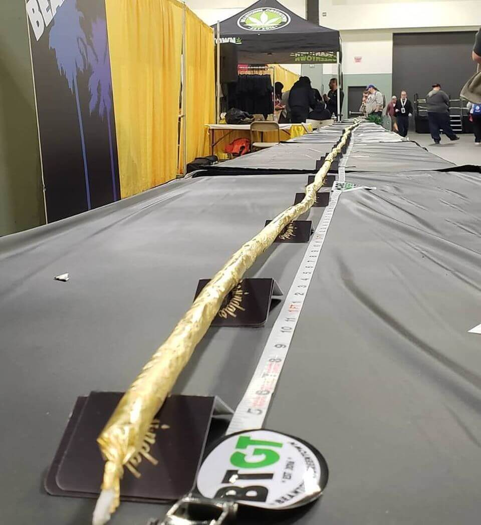 New World Record: 119-foot 24K Gold Joint Rolled in Massachusetts