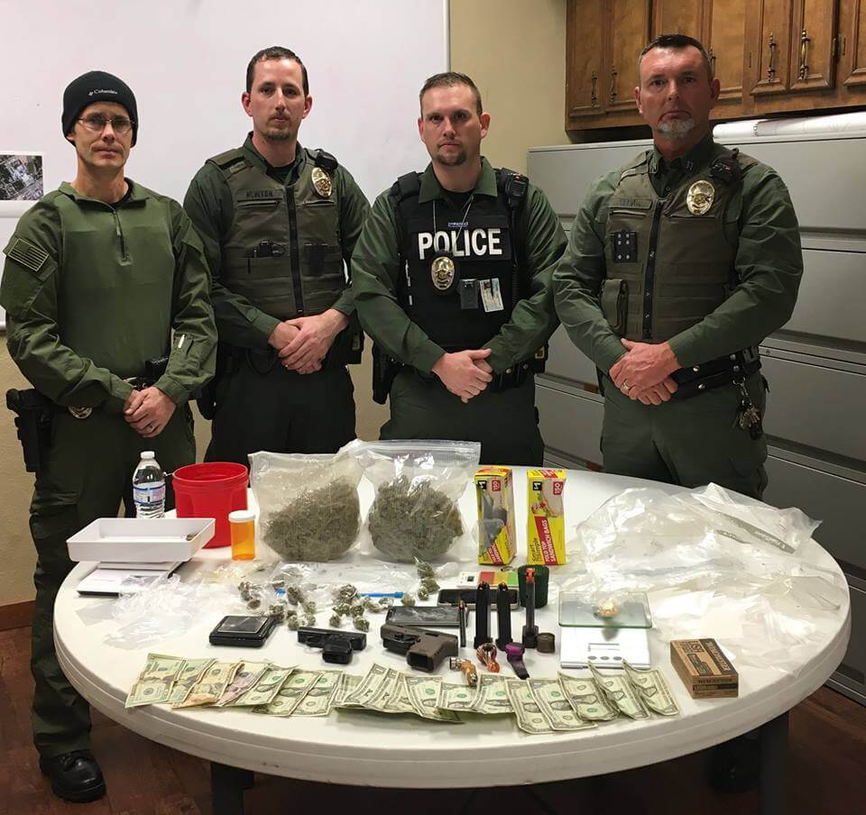 """Tehana Cops Posted Pics Of A """"Drug Bust"""" And People Won't Stop Trolling Them"""