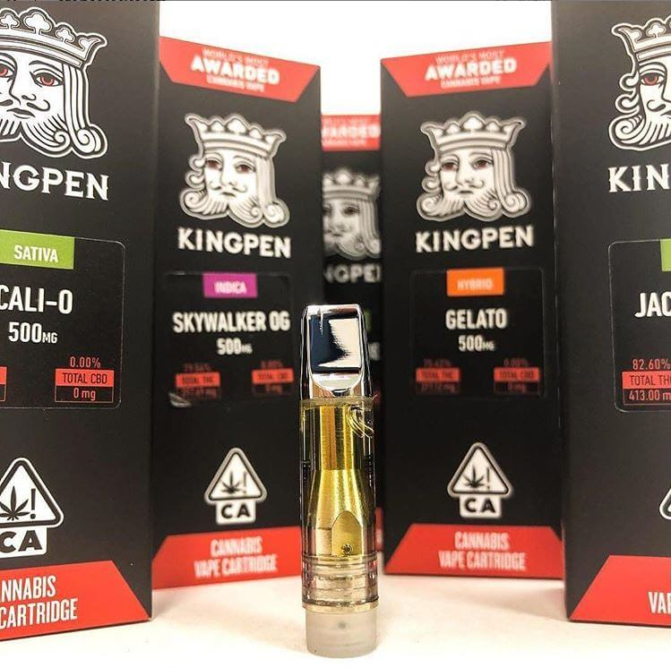 710 king pen thc oil review