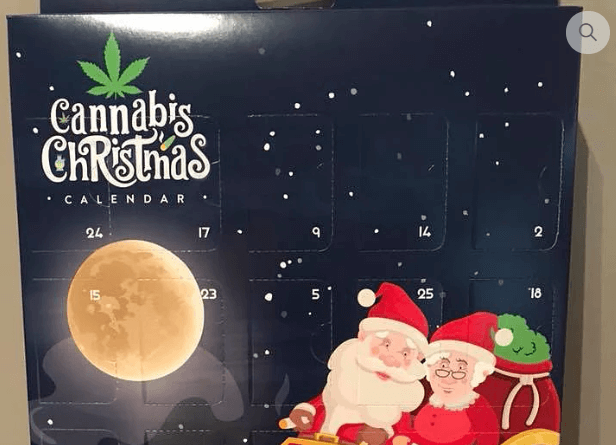 This Christmas Cannabis Calendar Has The Internet Going Nuts!