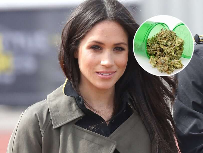 """Meghan Markle Served """"Cannabis Joints"""" At Her First Wedding"""