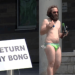 Return My Bong Protestor