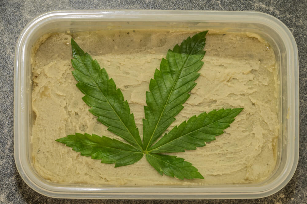 Weed Butter With Stems