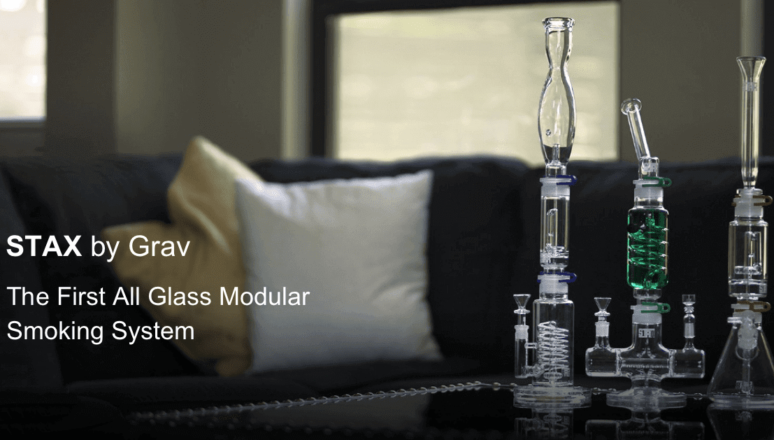 Grav Lab Stax – The First All Glass Modular Smoking System