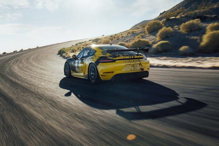 Porsche Hemp Car