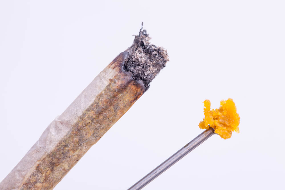 Study: Joints Waste 300% More THC Than Dabs