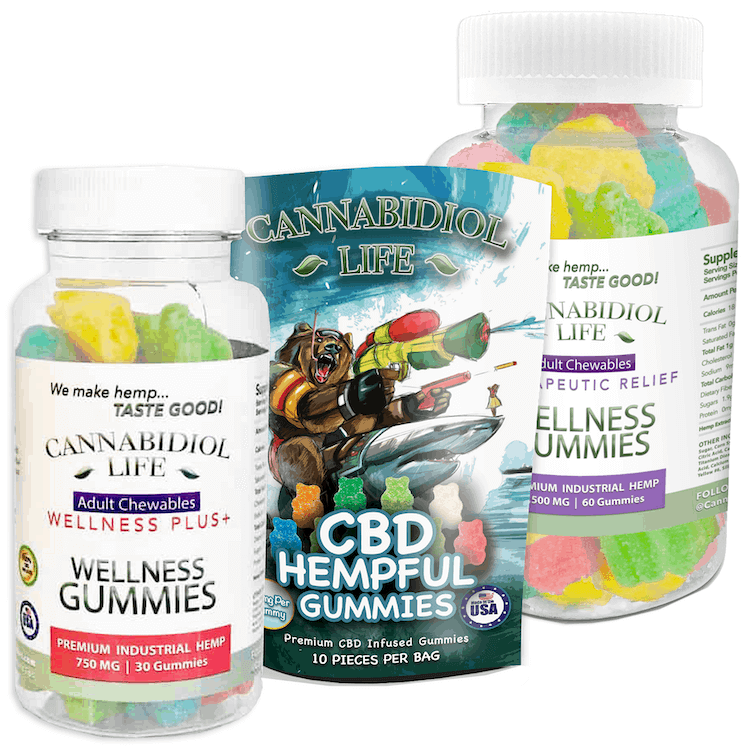 CBD Gummies Cannabidiol Life