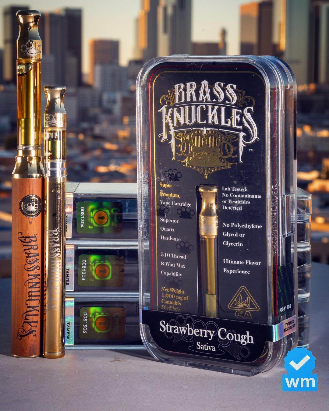 real brass knuckles vape cartridges