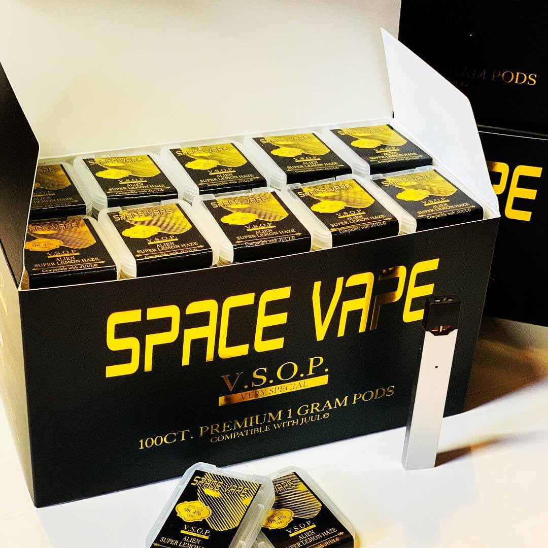 new space vape pods