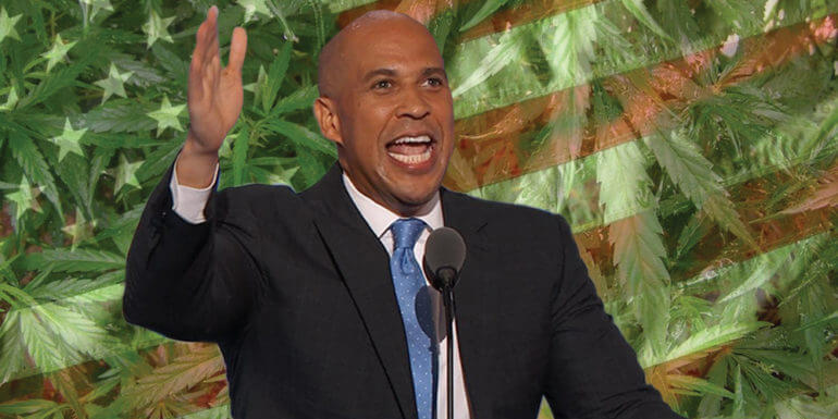 Cory Booker Introduces Bill To Legalize Cannabis Nationwide
