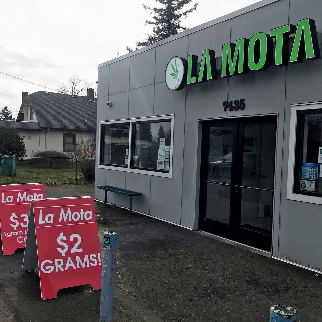 Oregon dispensary