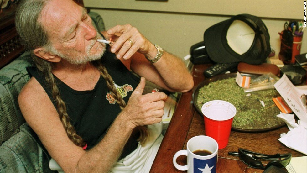 Willie Nelson Says Weed Saved His Life