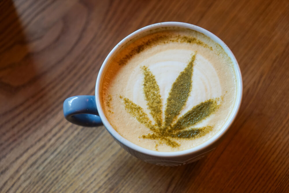 Coffee Already Vaped Cannabis