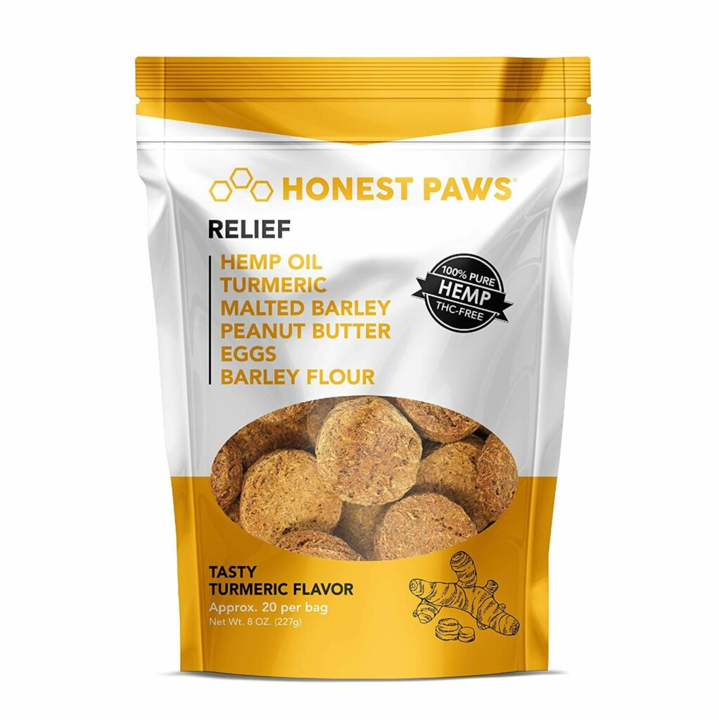 Honest Paws CBD Dog Snacks