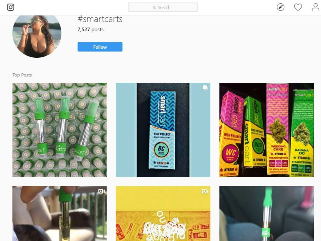 smart carts instagram