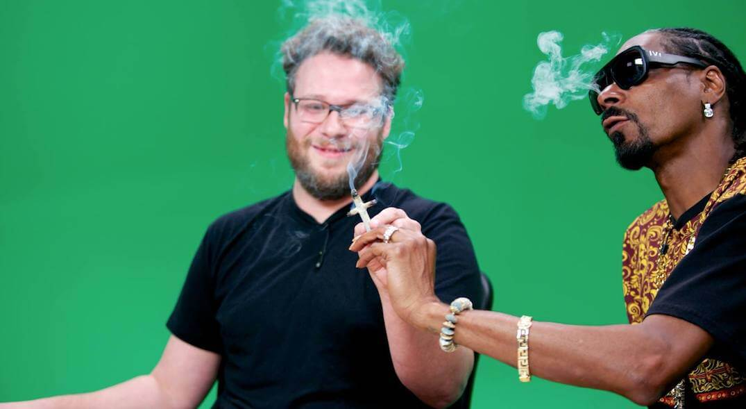 Seth Rogan Admits He's High While Filming All His Movies