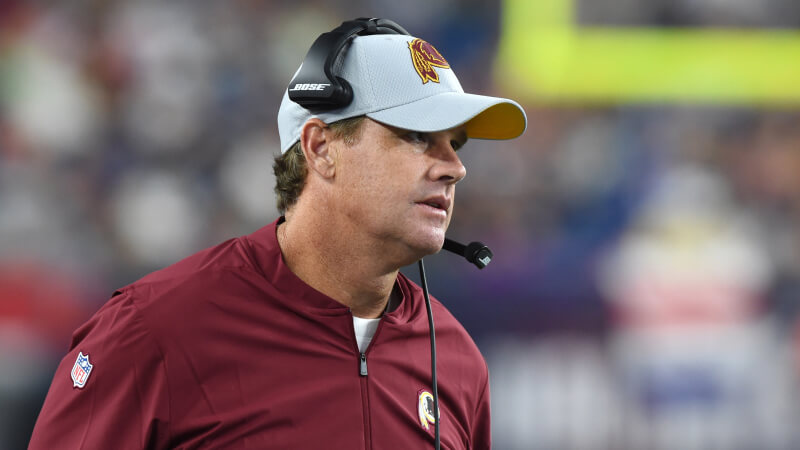 Video Shows Redskins Coach Jay Gruden Smoking Weed & Trying To Hit On Young Girls
