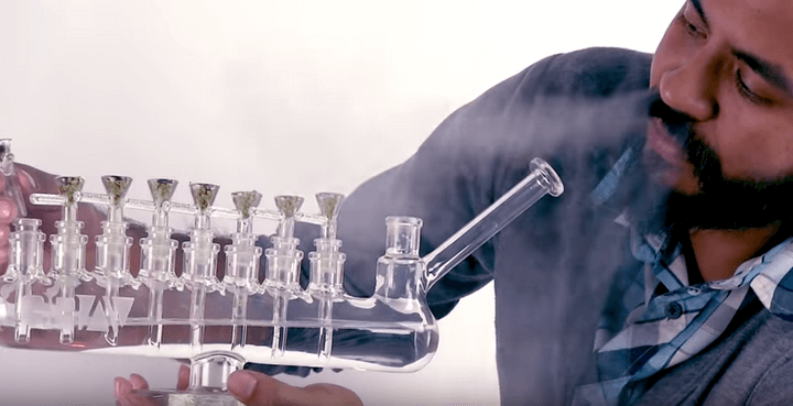 Get Ready for the High Holidays With the Menorah Bong