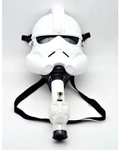 storm trooper gas mask bong