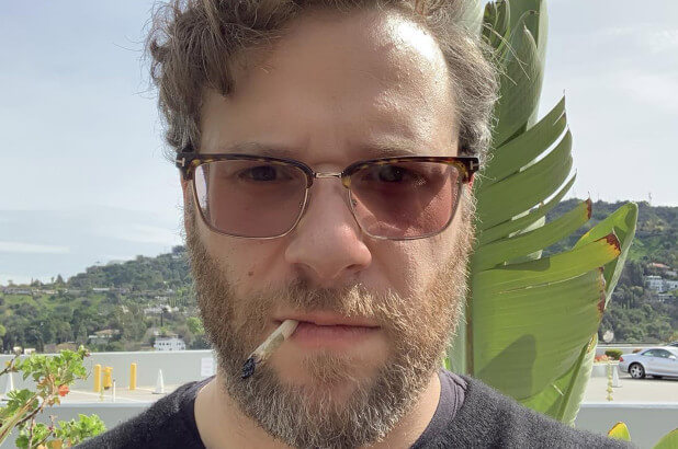 Seth Rogen Says He's Smoking an 'Ungodly Amount of Weed' on Lockdown