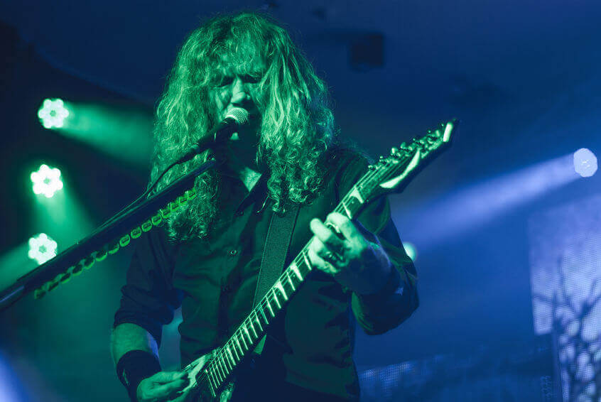 Megadeth's Dave Mustaine Credits Cannabis With His Cancer Recovery