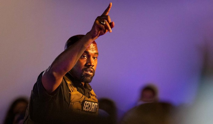 Kanye West Promises Free and Legal Weed for All at First Presidential Campaign Rally