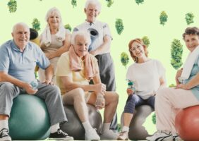 Stoner cliche cannabis users exercise more