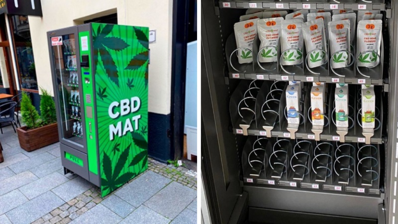 You Can Now Buy Cannabis Products From Vending Machines in Prague