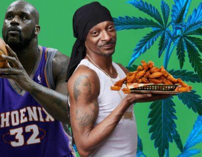 Snoop Dogg Shaq Chicken Wings
