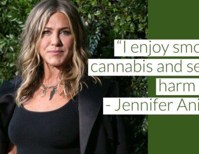 Jennifer Aniston Advice First Time Weed Smoker