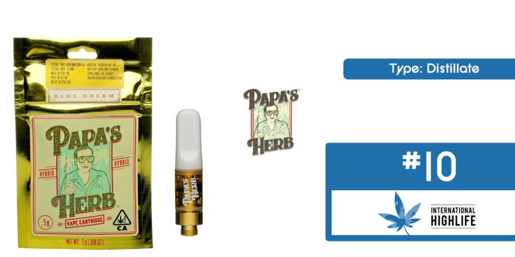 Papa's Herb THC Cartridge