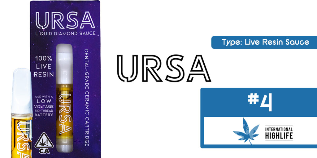 URSA Liquid Sauce Diamond 510 THC Carts Ranking