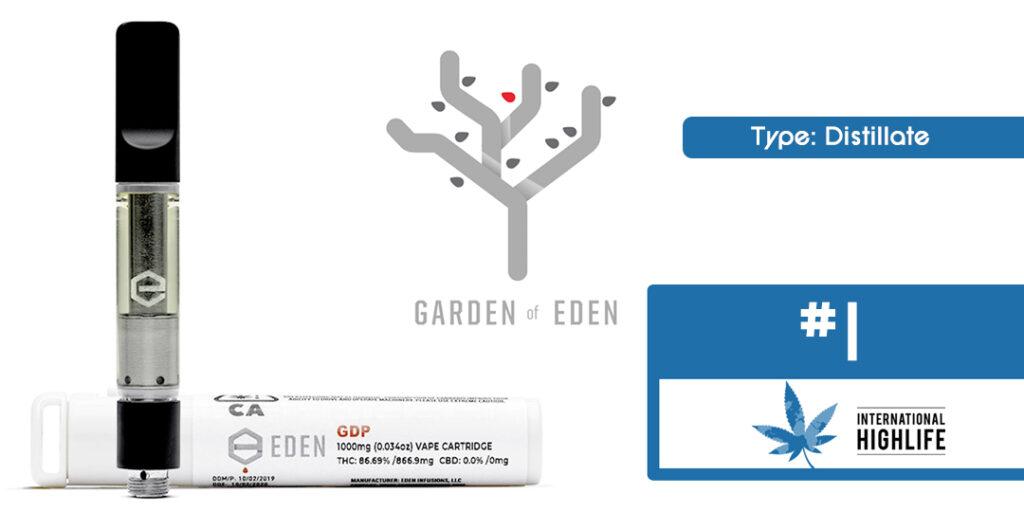 Garden of Eden 510 Vape THC Cartridge Ranking