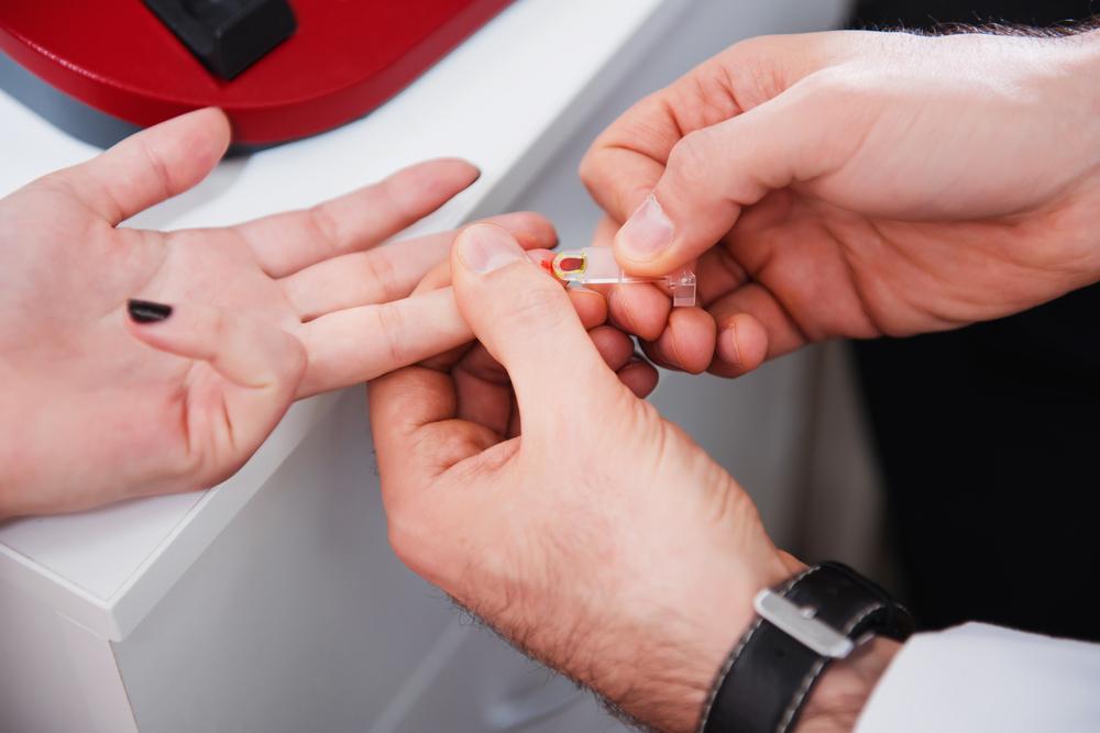 Blood Taken for a Marijuana Drug Test