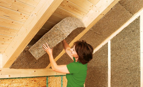 Hemp used for Insulation